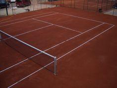 Pista de tenis de tierra batida