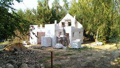 Budowa domu na podstawie projektu Chatka z MG Projekt.  #budowa #projekt #chatka #mgprojekt