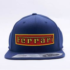 Ferrari Red Vintage Custom Cap