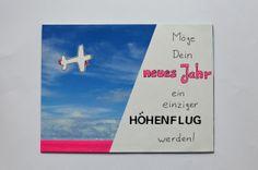Geburtstagskarte - Höhenflug / Birthday Card - Flying High