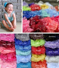 $10.95 NEW Confetti Glitter Rompers NB-6T - 21 Colors To Choose From! at VeryJane.com