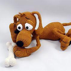 Love that picture!! Doug the dog amigurumi crochet pattern by IlDikko