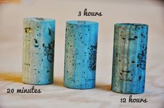 How to Dye Wine Corks - Living with Punks
