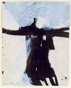 This is a unique painting by Franz Kline, well known for his black and white abstract work. Description from pinterest.com. I searched for this on bing.com/images