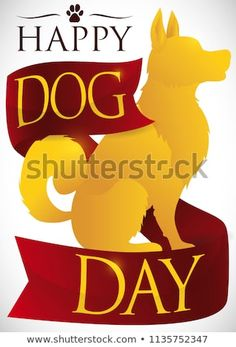 Find Poster Elegant Golden Dog Silhouette Ribbon stock images in HD and millions of other royalty-free stock photos, illustrations and vectors in the Shutterstock collection. Thousands of new, high-quality pictures added every day. Dog Silhouette, Golden Dog, Happy Dogs, Dog Days, Silhouettes, Royalty Free Stock Photos, Ribbon, Elegant, Illustration