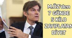 Mehmet Öz'den 1 haftada 5 kilo zayıflatan diyet