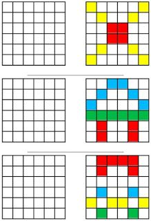 Le Journal de Chrys: avril 2019 Brain Gym For Kids, Math For Kids, Adhd Activities, Visual Perception Activities, Math Exercises, Lego Math, Pattern Worksheet, Pix Art, Art Worksheets