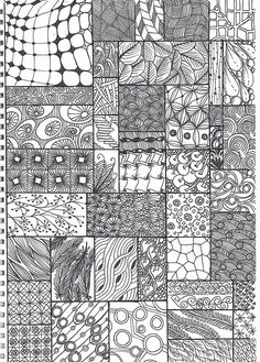 548 best zentangle images on pinterest zentangle patterns doodle doodle zentangle pattern sheet by krochetokikai fandeluxe Image collections