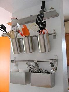 Ikea Grundtal: The Stylish King of Cheap Kitchen Shelving — Email from 2.17.08