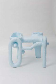 Salon 94 Design — Thomas Barger Weird Furniture, Ceramic Furniture, Concrete Furniture, Textile Sculpture, Abstract Sculpture, Sculpture Art, Art Central, Sculptures Céramiques, Modern Crafts