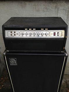 Vintage 1978 Ampeg SVT Bass Amp Head 300 Watt Tube Amplifier
