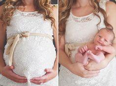 Lace Dress Maternity & Newborn Compilation.