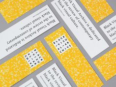 Graphic Design: Great web and print identity by Montreal studio Fivethousand Fingers