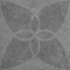 Vtwonen Buitentegels Duostone Hormigon Butterfly Antraciet 60x60 cm | Tegels.com