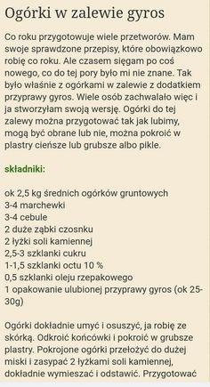 Polish Food, Polish Recipes, Food And Drink, Polish Food Recipes