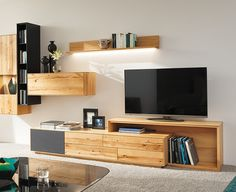 Puro ich Anrei - New Sites 3 Living Rooms, Living Room Tv Unit, Living Room Colors, Home And Living, Living Room Furniture, Living Room Designs, Living Room Decor, Tv Unit Design, Tv Wall Design