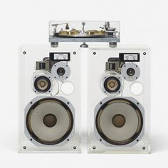@SoudaBrooklyn / @wrightauction: #JaMichell Engineering LTD Reference Hydraulic Transcription Turntable & speakers, c.1965 Art + Design | 9.24.15 Posted by SoudaSouda Follow Souda on instagram, pinterest, facebook, or tumblr.
