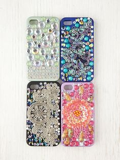 Adorned iPhone 4/4S Case at Free People Clothing Boutique