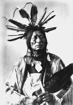 """""""I will follow the white man's trail. I will make him my friend, but I will not bend my back to his burdens. I will be cunning as a coyote. I will ask him to help me understand his ways, then I will prepare the way for my children, and their children. The Great Spirit has shown me - a day will come when they will outrun the white man in his own shoes."""" —Many Horses."""