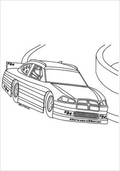19 Car Coloring Pages Free Printable Word PDF PNG