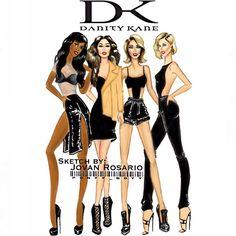 #ShareIG My fashion illustration of @danitykane