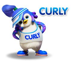 Curly got a ponytail!