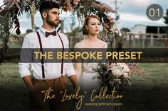 BESPOKE Wedding Lightroom Preset by EstellaPhoto on @creativemarket
