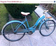 SHOP SALE Vintage Retro Womens Monark Roadster by EddiesShoppe, $138.75