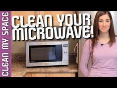 Clean A Microwave!