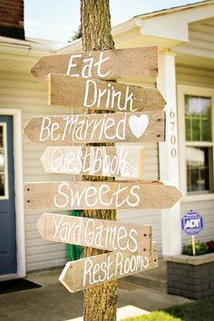 {Rustic & Sweet} Yellow Summer Wedding // Hostess with the Mostess®.