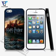 Hot sale harry potter popular movie Case For iphone 5 5s Case for iphone 4 4s Cover Soft TPU+Hard PC Hybrid With Free Gift