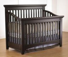 The Seville 4 in 1 can be used as a crib, Daybed, Full-size bed with headboard on a metal bed frame, or Full-size bed with headboard and footboard using optional wooden Adult Rails.
