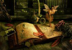 Fantasy Digital Art - The Journal by Cassiopeia Art Gifs, Hades Gif, Fairy Land, Fairy Tales, Fairy Dust, Dragons, Steampunk, Graffiti, Kobold