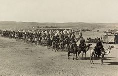 File:The camel corps at Beersheba2.jpg WikiCommons