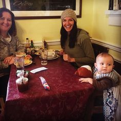 Got to have breakfast with these loves today! @buttrflywoman