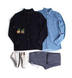놈코어룩 데일리 남방자켓-jacket14 - [존클락] 남자옷 쇼핑몰