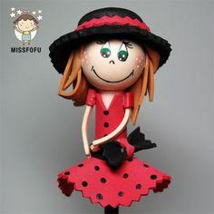 Fofulapiz traje rojo