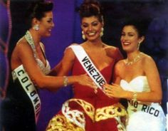 Top 3 in Miss Universe 1993...  Miss Puerto Rico - Dayanara Torres Miss Colombia - Paula Andrea Betancourt Miss Venezuela - Milka Chulina