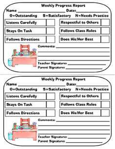 An Example Of The Assessment Template I Use For Reporting On