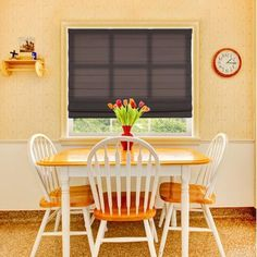 """Top Blinds Light Filtering Cordless Fabric Roman Shade Feature: Light Filtering Shade, Size: 33.5"""" W X 60"""" L, Color: Espresso"""