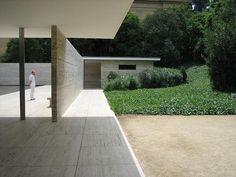 Barcelona Pavillion by Mies Van der Rohe