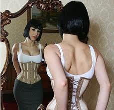 Resultado de imagem para corset tight lacing