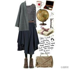 休闲长裙 First They Came, Face, Polyvore, How To Make, Outfits, Style, Fashion, Clothes, Moda