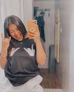 """𝗺𝗼𝗺𝗺𝗮 𝗷𝗲𝘀𝘀 ✌︎︎ on Instagram: """"okay this tee is matching my mood. 😎 . . Use code: JESS10 to save 💕"""" Match Me, My Mood, Coding, Selfie, Tees, Instagram, Style, Swag, T Shirts"""