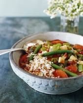 I made this, but okra was out of season so I used kale. The flavor of the gumbo was good, but I didn't like the way any of the vegetables or quinoa tasted... Glad I tried it, would change a lot. Original Pin:Crockpot Vegan Gumbo, sub quinoa for rice
