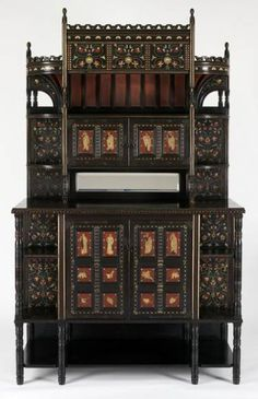 ebonised aesthetic furniture - Google Search