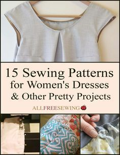 Free printable sewing patterns?! Yes, please.