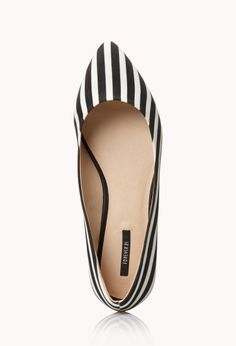 City-Chic Striped Flats | FOREVER21