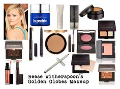 """""""Reese Witherspoon's Golden Globes Makeup"""" by meganperry02 ❤ liked on Polyvore featuring beauty, Laura Mercier and Too Faced Cosmetics"""
