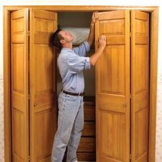 How to fix a stubborn bi-fold closet door